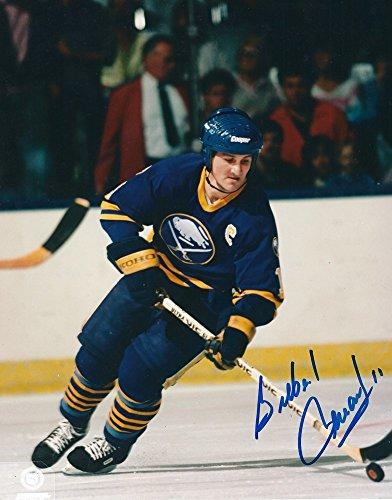 Gilbert Perrault Signed Buffalo Sabres 8x10 Photo - Autographed Autograph (Photo Buffalo Signed Sabres Nhl)