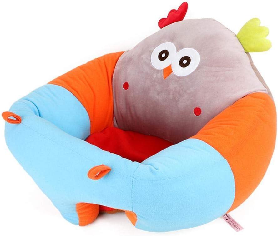 Sofa Bebe De 0 A 2 A/ños Morningtime Asiento De Apoyo para Bebe Juguetes para Ni/ños Cojin De Asiento De Suave Peluche Asiento De Aprendizaje Bebe