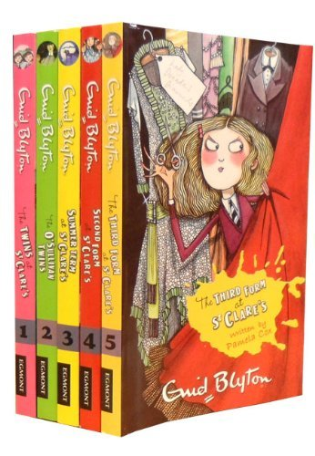 Enid Blyton Series Collection St Clare's 5 Books Set (The Twins At St Clare's, The O' Sullivan Twins, Summer Term At St Clare's, Second From At St Clare's, The Third From At St Clare's)