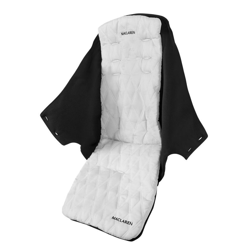 Maclaren Techno XLR Seat (Black/Silver) Maclaren UK Baby PM1Y150092