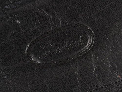 Cuir Noir Petit Classique Sac à main Deux Poignées by Hansson 6342
