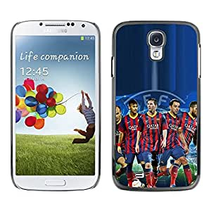 LOVE FOR Samsung Galaxy S4 Barcelona Soccer Team Personalized Design Custom DIY Case Cover