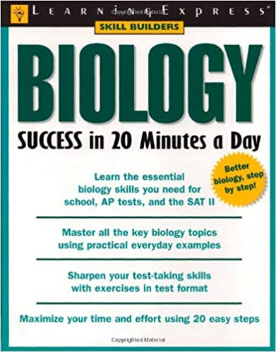 Amazon biology success in 20 minutes a day skill builders amazon biology success in 20 minutes a day skill builders 9781576854839 learningexpress editors books fandeluxe Image collections