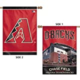 Stockdale Arizona Diamondbacks WC Premium 2-Sided 28x40 Banner Outdoor House Flag Baseball