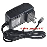 SLLEA AC / DC Adapter For 7.5V ~ 9V AngelCare Baby Monitor Movement & Sound Monitors Replacement Switching Power Supply Cord Charger Spare