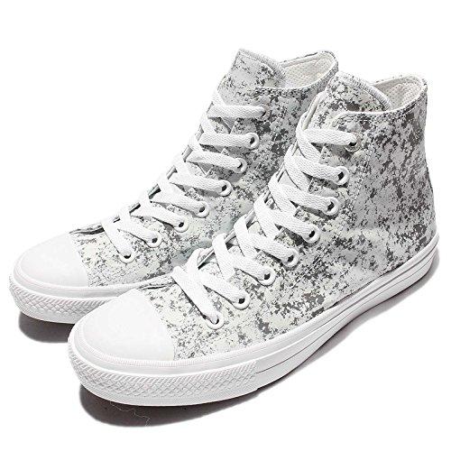 Shoe Taylor White Casual Converse White All Silver II Unisex Chuck Pure Star Hi qnwU8Z