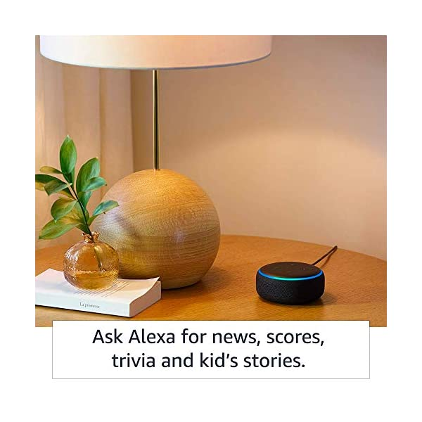 51ozcmA35GL Echo Dot (3rd Gen) – Smart speaker with Alexa (Grey)