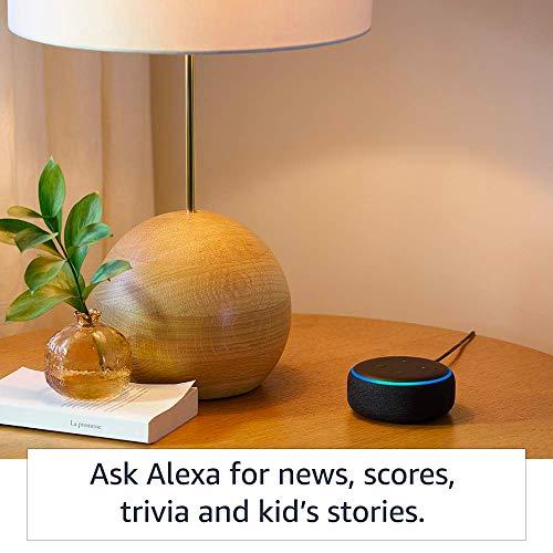 Echo Dot (3rd Gen) – Smart speaker with Alexa (Grey)