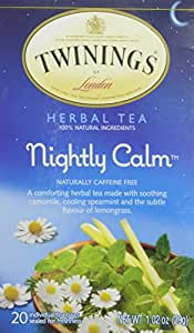 Twinings Nightly Calm Tea Bags, 20 Count