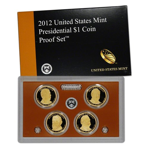2012 US Mint Presidential Coin Proof Set