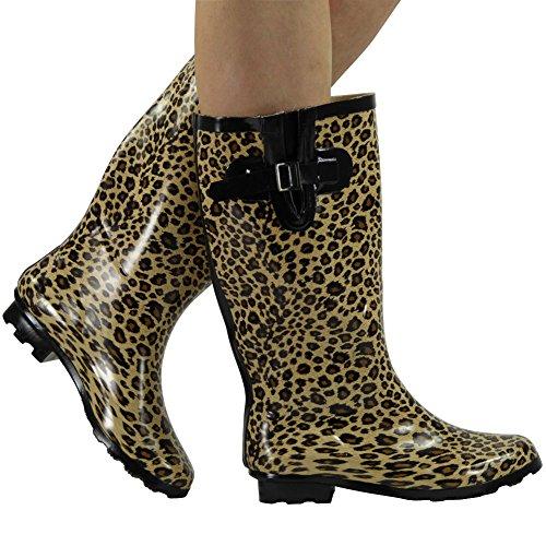 Loud Look - Botas altas mujer Multicolor - leopardo