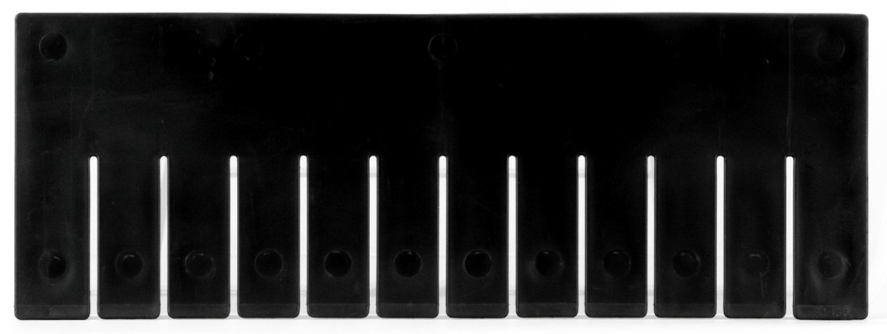 B000189CVO Akro-Mils 42166 Long Divider for 33166 Akro-Grid Slotted Divider Plastic Tote Box, Pack of 6 51ozd-2dAJL