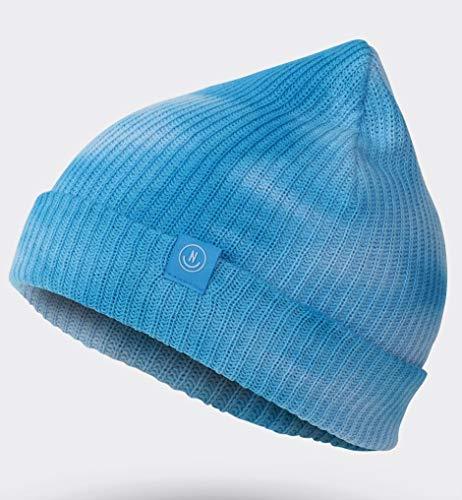- NEFF Men's Werged Beanie, Cyan wash One Size
