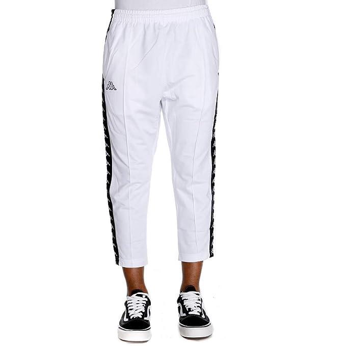 come comprare miglior grossista negozio del Regno Unito Kappa 222 Banda Adern Pantalone Uomo 3031WR0 917 White Black ...