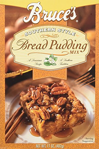 - Bruce's Southern Style Bread Pudding Mix, 17 Ounces (3 Pack)