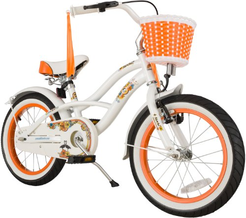 Bikestar 16 Inch  Kids Childrens Bike Bicycle - Cruiser - Wh
