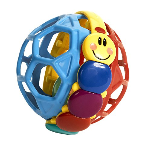 Bendy Ball Rattle Toy (Best Baby Einstein Items For Toddlers)