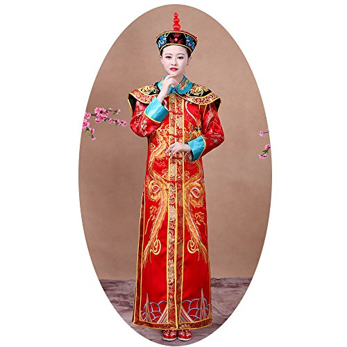 The Qing Dynasty Costume/Queen's dress/Ancient Chinese Cosplay/Emperors
