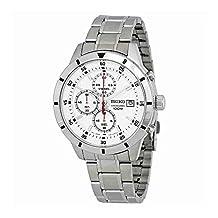 Seiko Chronograph Silver Mens Watch SKS557