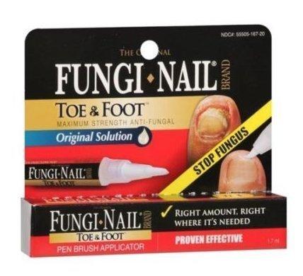 Fungi Nail Pen Brush Applicator Toe & Foot Anti Fungal Toenail Fingernail Fungus by Strength Anti-fungal Liquid