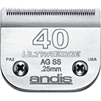 "Andis Ultra Edge Size Negro alfonbrilla para Mouse, 40SS: 1/100"" (0.25 mm), N/A, 40"