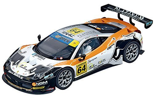 Carrera Digital 124, Ferrari 458 Italia GT3, Black Bull Racing #64, 1/24 Scale Slot Car by Carrera USA
