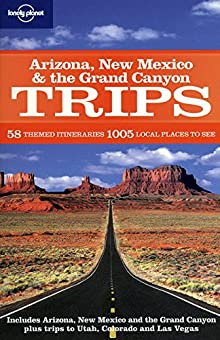 Book cover: Arizona, New Mexico & the Grand Canyon Trips