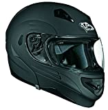 Vega Summit II Modular Helmet (Flat Black, Medium)