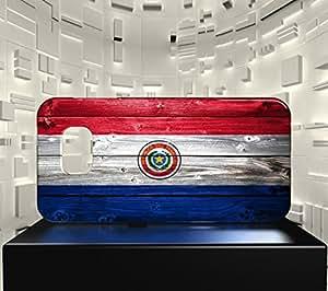 Funda Carcasa para Galaxy S6 Edge Bandera PARAGUAY 02
