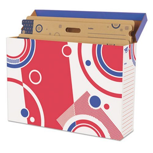 File n Save Bulletin Board Storage Box, 27-3/4 x 19 x 7-1/4, Bright Stars