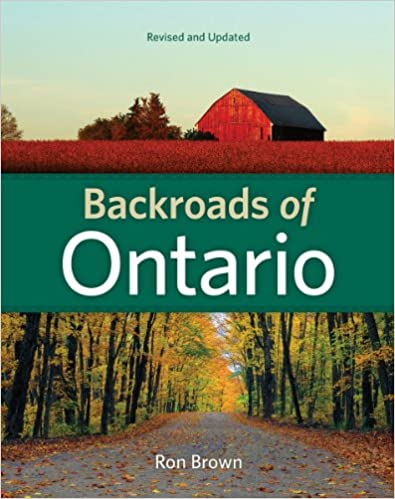 Book Backroads of Ontario