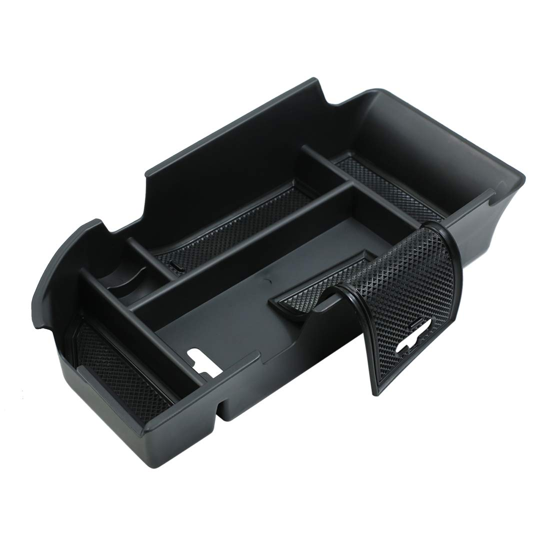 X AUTOHAUX Center Console Organizer Armrest Storage Box Insert Tray for Toyota Camry 2018