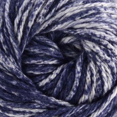 N Cream Sugar Yarn Cone - Premier Yarns 1032-02 Home Cotton Yarn - Multi Cone-Denim Splash