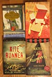 img - for 4 books 1) Secret Life of Bees 2) Running with Scissors 3) The Kite Runner 4) Water For Elephants book / textbook / text book