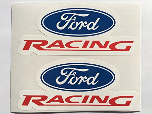 2 Ford Racing Die Cut Decals by SBD DECALS