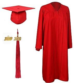 Amazoncom 2018 Red White Graduation Tassel Tassel Depot Brand