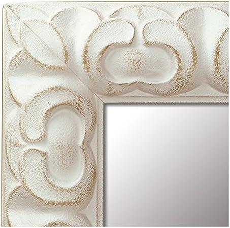 Espejo de Madera Fabricado en España - Tamaño 68x168 cm. Espejo Decorativo de Pared Modelo 238 Blanco. Ideal para Salón, Dormitorio, vestidor, Baño o Pasillo.: Amazon.es: Hogar