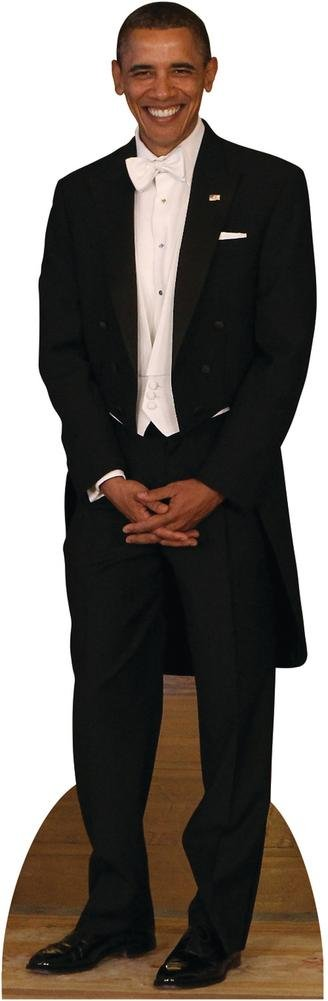 President Obama Lifesize Standup Cardboard Cutouts 75 x 24in