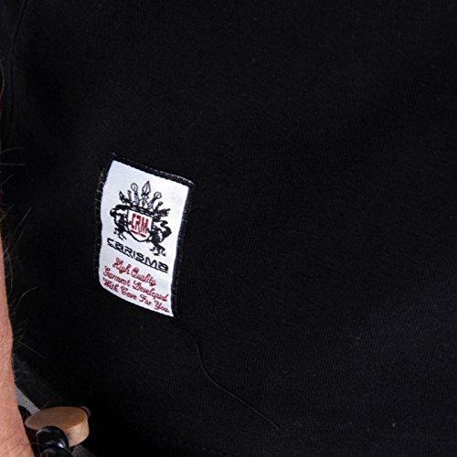 CARISMA Herren Kurzarm Polo Shirt Black 4102 Größe S