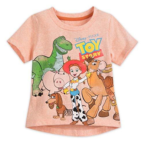 Disney Toy Story Family T-Shirt for Girls Size S (5/6) Multi