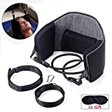 Suffered from neck pain? Out of budget for the costly physical therapy session? Need an alternative for the large cervical traction chair?  Desperate for an EASY and PORTABLE solution to your cervical problem both at home and office?  Try this hammoc...