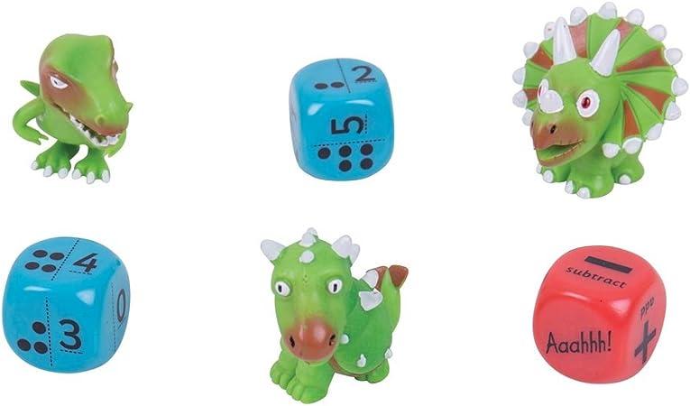 ZooBooKoo Dude Dice High Score Level 3 Mental Mathematics Games Set