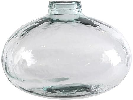 Artisanti Vitro Recycled Glass Round Vase Large Amazon