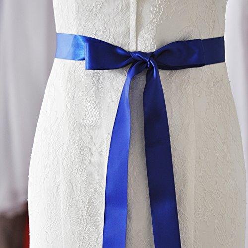 Ghigliottina Cinture Cinghia Nuziale Blu Delle Matrimonio Donne Cristallo Azalee Reale Cerimonia Per Fusciacche Nuziale La Di WRqXxcTUU