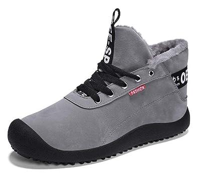 6d44ed1bf656c2 Amazon   [Scennek] スノーブーツ メンズ ショートブーツ ウィンターブーツ カジュアル 防寒 滑り止め 雪靴 アウトドア 冬用24.5-29    Scennek   安全靴・作業靴