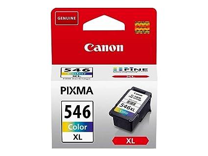Canon CL-546XL Cartucho de tinta original Tricolor XL para Impresora de Inyeccion de tinta Pixma TS3150-TS3151-MX495-MG2450-MG2550-MG2550S-MG2555S-MG2...
