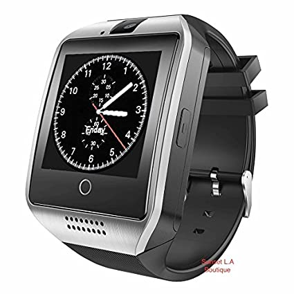 Amazon.com: Reloj inteligente con cámara, Q18 Smartwatch ...