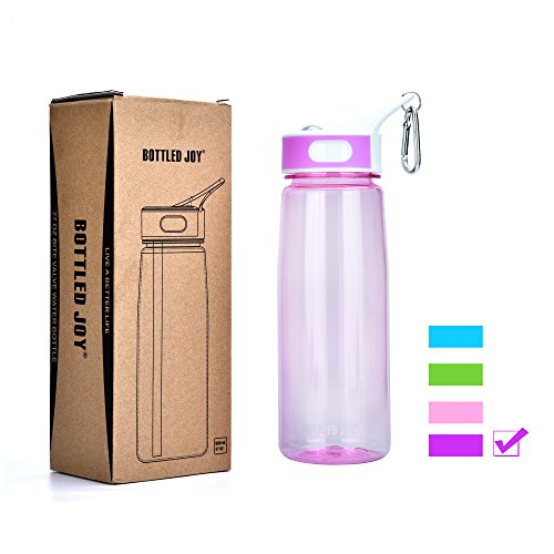 BOTTLED JOY Sip Water Bottle, Tritan Sports Water Bottle With Straw And Handle,Wide Mouth Camping Water Bottle 27OZ, BPA FREE (Sports Sip Bottle compare prices)