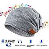 Best Birthday Gifts For Teen Boys - Pococina Bluetooth 4.1 Slouchy Daily Beanie Hat Review
