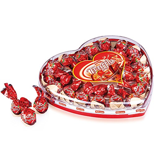 Truffle, Milk Chocolate Candy With Strawberry Cream and Crisped Rice, 10-Ounce Gift Box ()